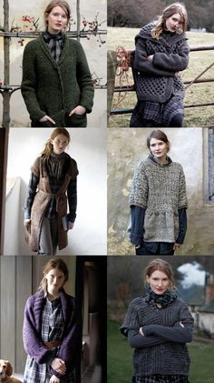 Sweaters. Drive Me Into Wild. great shapes and textures