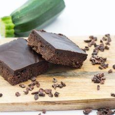 Gluten-Free Chocolate Zucchini Brownies, no white sugar