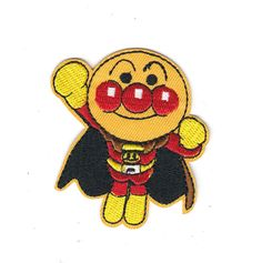 New to craftapplique on Etsy: Anpanman embroidery embroidered patch iron on patch sew on patch76.6cm A185 (2.90 USD)