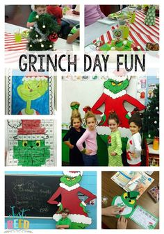 Host an unforgettable Grinch Day this Christmas.  Includes printables, links to freebies, decor ideas, and more!