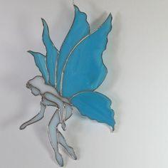 Stained glass Fairy Suncatcher #StainedGlassFairy