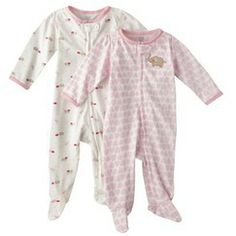 JUST ONE YOU® Made by Carters Newborn Golds' 2 Pack Sleep N' Play - Pink