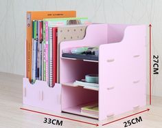 box photo on sale at reasonable prices, buy assembly File data rack shelf storage rack supplies desktop storage box storage holder from mobile site on Aliexpress Now! Bedroom Storage, Diy Storage, Storage Boxes, Storage Rack, Rack Shelf, Makeup Storage, Diy Bedroom, Office Storage, Desk Organization Diy
