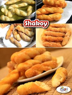 Shakoy Recipe is a native delicacy and an all-time favorite afternoon snack in the Philippines. It is also called as Lubid-Lubid since it looks like a rope. Filipino Desserts, Filipino Food, Filipino Recipes, Pinoy Recipe, Fried Donuts, Caramelized Sugar, Pinoy Food, Afternoon Snacks, Hot Dog Buns