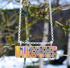 Jewelry Made From Coloured Pencils By Czech Artist | Home Design