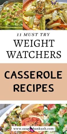 11 Weight Watchers Casserole Recipes With SmartPoints – Easy WW Casserole Freestyle 11 Weight Watchers Casserole Recipes With SmartPoints? From Weight Watchers Casserole Chicken, Pasta, to Weight Watchers Casserole Vegetarian recipes which are best for your appetite. And these Weight Watchers Casserole Freestyle recipes are tasty. #weightwatcherscasserole #weightwatchersrecipes #weightwatcherssmartpoints #weightwatchers #casserolerecipes<br> LOVE? Easy Weight Watchers Casserole Recipes With… Weight Watchers Casserole, Weight Watchers Lunches, Weight Watchers Soup, Weight Watchers Breakfast, Weight Watcher Dinners, Weight Watchers Chicken, Vegetarian Recipes, Healthy Recipes, Ww Recipes