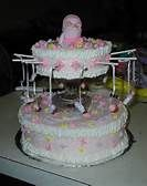 Baby Shower Cakes For Girls - Bing Images Girl Cakes, Baby Shower Cakes, Cake Decorating, Projects To Try, Girl Shower, Shower Ideas, Bing Images, Girls, Desserts
