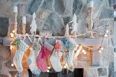 love, sarah schneider: a little Christmas tour. Merry Little Christmas, Christmas Love, Christmas Colors, Winter Christmas, Handmade Christmas, Christmas Crafts, Magical Christmas, Rustic Christmas, Beautiful Christmas