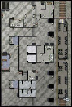 SubwayStationcopy.jpg~original (687×1024) Dungeon Maps, Dungeon Tiles, Seattle Map, Tabletop Rpg, Tabletop Games, Shadowrun Rpg, Cyberpunk 2020, D20 Modern, Building Map