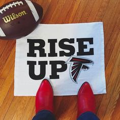 Wearing my lucky boots!  Lets go @atlantafalcons!  #RiseUp