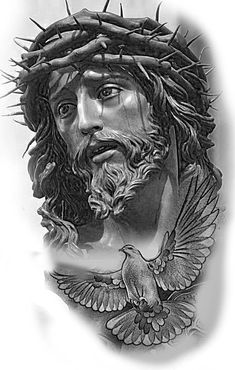 Lessons That Will Get You In The arms of The Man You love Jesus Christ Drawing, Jesus Drawings, Tattoo Drawings, Jesus Christ Statue, Jesus Tattoo, Christus Tattoo, Religion Tattoos, Heaven Tattoos, Pictures Of Jesus Christ