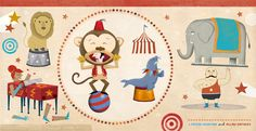 circus illustration by linzie hunter and allan sanders