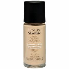 revlon-colorstay-foundation: If you're looking for a medium-high coverage drugstore foundation, look no further than Revlon's Colorstay Foundation!