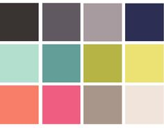 Home Color Palette by klacowsky, via Flickr