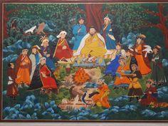 Mongol zurag Khishigbaatar khubilai khaan Asia, Watercolor, Painting, Pen And Wash, Watercolor Painting, Watercolour, Painting Art, Paintings, Painted Canvas