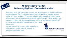 Mr-Innovation's Tips for: Delivering Big Ideas, Fast and Affordable | www.mr-innovation.com