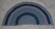 Ravelry: T-Shirt Tarn Bathmat Rug pattern by Cindy RecycleCindy