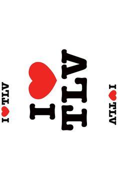 i love Tel Aviv iphone case #TLV #telaviv #israel #iphone #case #iphone #ronsho