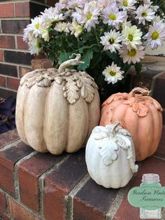Here are the latest designs from Goodson Vintage Treasures, pumpkins with IOD Moulds. They are super easy to make using Iron Orchid D. Glass Pumpkins, Fall Pumpkins, Velvet Pumpkins, Thanksgiving Crafts, Fall Crafts, Plaster Crafts, Iron Orchid Designs, Fall Diy, Pumpkin Crafts