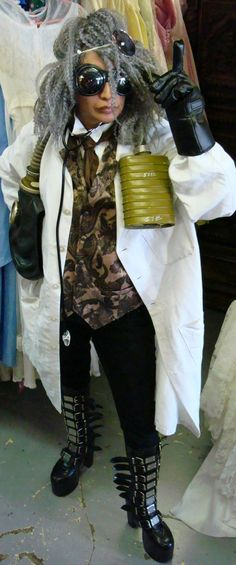 steampunk mad scientist costume - Bing Images