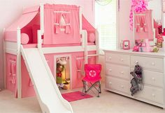 Kiddie Kastle.  Childrens Furniture since 1948 in Louisville KY.   My daughter would love a bed like this.