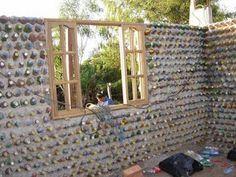 Uma Nova Visão: Construção Alternativa casa de Garrafa