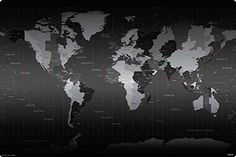 Best world map wall ideas on pinterest bedroom wallpaper imagine work surface world time zones huge extra large non slip desk pad gumiabroncs Gallery