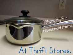 Many household items can be found at Goodwill. Here's what I often look for.