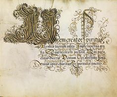 FJ Brechtel calligraphy 16th cent. d