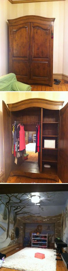 Narnia closet....woah my god