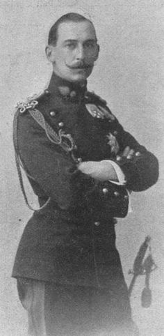 "Prince Nicholas of Greece & Denmark (1872 – 1938), of the Glücksburg branch of the House of Oldenburg, was the son of George I, King of the Hellenes, & of Queen Olga. He was known as ""Greek Nicky"" in the family to distinguish him from his cousin Czar Nicholas II of Russia. Prince Nicholas was a talented painter, often signing his works as ""Nicolas Leprince."" He married Grand Duchess Elena Vladimirovna of Russia daughter of Grand Duke Vladimir Alexandrovich of Russia"