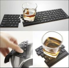 Keyboard Drink Coaster - 1073802 - PC Gallery | MMGN Australia