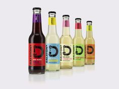 Dalston's Soft Drinks — The Dieline - Branding & Packaging