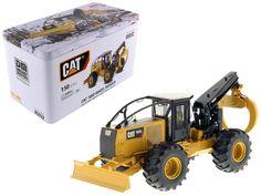 CAT Caterpillar 555D Wheel Skidder with Operator High Line Series 1/50 Diecast Model by Diecast Masters