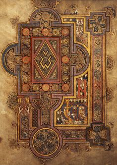 ossidiseppia: The book of Kells - Leabhar Cheanannais