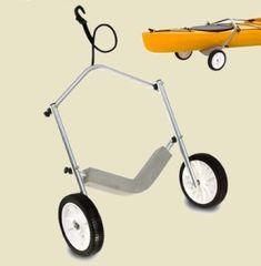 diy kayak cart | canoe kayak tote