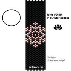 peyote ring patternPDF-Download 261R beading pattern