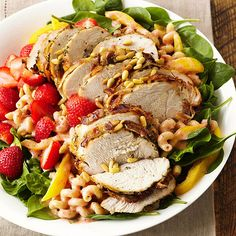 Best Summer Salads - These fresh summer salad recipes are anything but ordinary. Our irresistible combinations of seasonal vegetables and fruits come together with tasty, tangy vinaigrette and dressing recipes for summer salads everyone will love Best Summer Salads, Summer Salad Recipes, Healthy Summer, Grilling Recipes, Cooking Recipes, Healthy Recipes, Clean Recipes, Yummy Recipes, Recipies