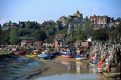 Rye, Sussex, England Rye Sussex, East Sussex, Rye Harbour, Medieval Town, City Photography, Fishing Boats, A4 Poster, Countryside, United Kingdom