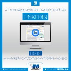 Imobiliária Moresco no Linkedin. Acesse www.linkedin.com/company/imobiliária-moresco