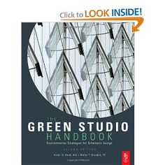 The Green Studio Handbook, Second Edition: Environmental Strategies for Schematic Design.  Written by one of the two head honcho green architects at UO.  Another one I'm embarrassed not to have.