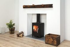 Buy The Mendip Loxton 3 SE Stove, Black From Stove Specialist Firebox, Over 200 Stove Models Stocked And Available Next Day Gas Fire Stove, Welsh Cottage, Stoves For Sale, Multi Fuel Stove, Stove Fireplace, Fireplace Ideas, Stainless Steel Doors, Log Burner, Small Spaces