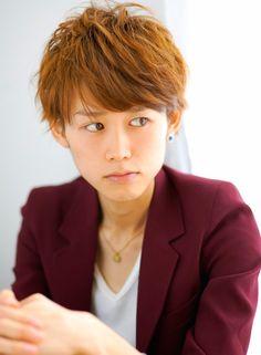 シャイニーショート 【Lanai】 http://beautynavi.woman.excite.co.jp/salon/26666?pint ≪ #menshair #menshairstyle・メンズ・ヘアスタイル・髪形・髪型≫