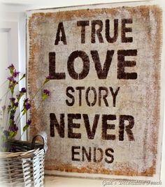 A True Love…..