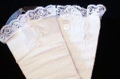 Girls lace Boot Socks Leg Warmers High Knee Knit by Eastalace Leg Warmers Outfit, Baby Leg Warmers, Knitting Socks, Knit Socks, Lace Boot Socks, Baby Sewing, Sew Baby, Girls Socks, White Boots