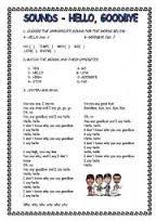 Greetings with FRENCH prompts worksheet - Free ESL printable ...