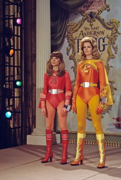 """Sid and Marty Krofft's """"Electra Woman and Dyna Girl"""" starred Deidre Hall and Judy Strangis"""