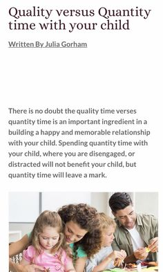 Julia Gorham's parenting tips Parenting Articles, Kids And Parenting, Parenting Hacks, African Children, Happy Relationships, Quality Time, Cool Kids, Verses, How To Memorize Things