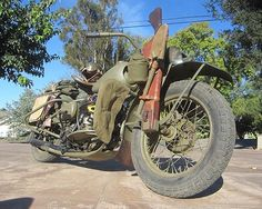 1942 Harley Davidson Other - 1942 Harley Davidson WLA 45ci. Military Cut Away Display | Classic Driver Market