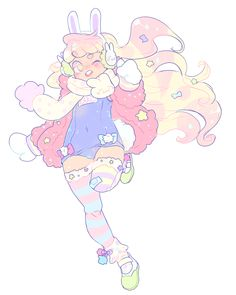 anime & cartoons animals other fair warning: not spoiler free and i am horrible with tagging things gomen. Kawaii Drawings, Cute Drawings, Pastel Goth Art, Kawaii Art, Character Design Inspiration, Anime Art Girl, Poses, Aesthetic Art, Cute Art